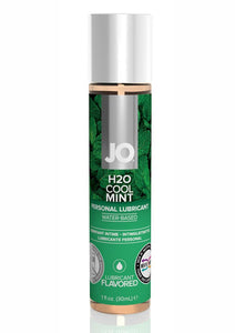 Jo H2O Water Based Flavored Lubricant Cool Mint 1 Ounce