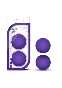 Luxe Double O Advanced Kegel Balls 1.3oz - Purple