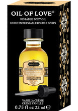 Load image into Gallery viewer, Kama Sutra Oil Of Love Vanilla Creme .75oz