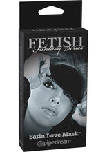Load image into Gallery viewer, Fetish Fantasy Series Limited Edition Satin Love Mask Black