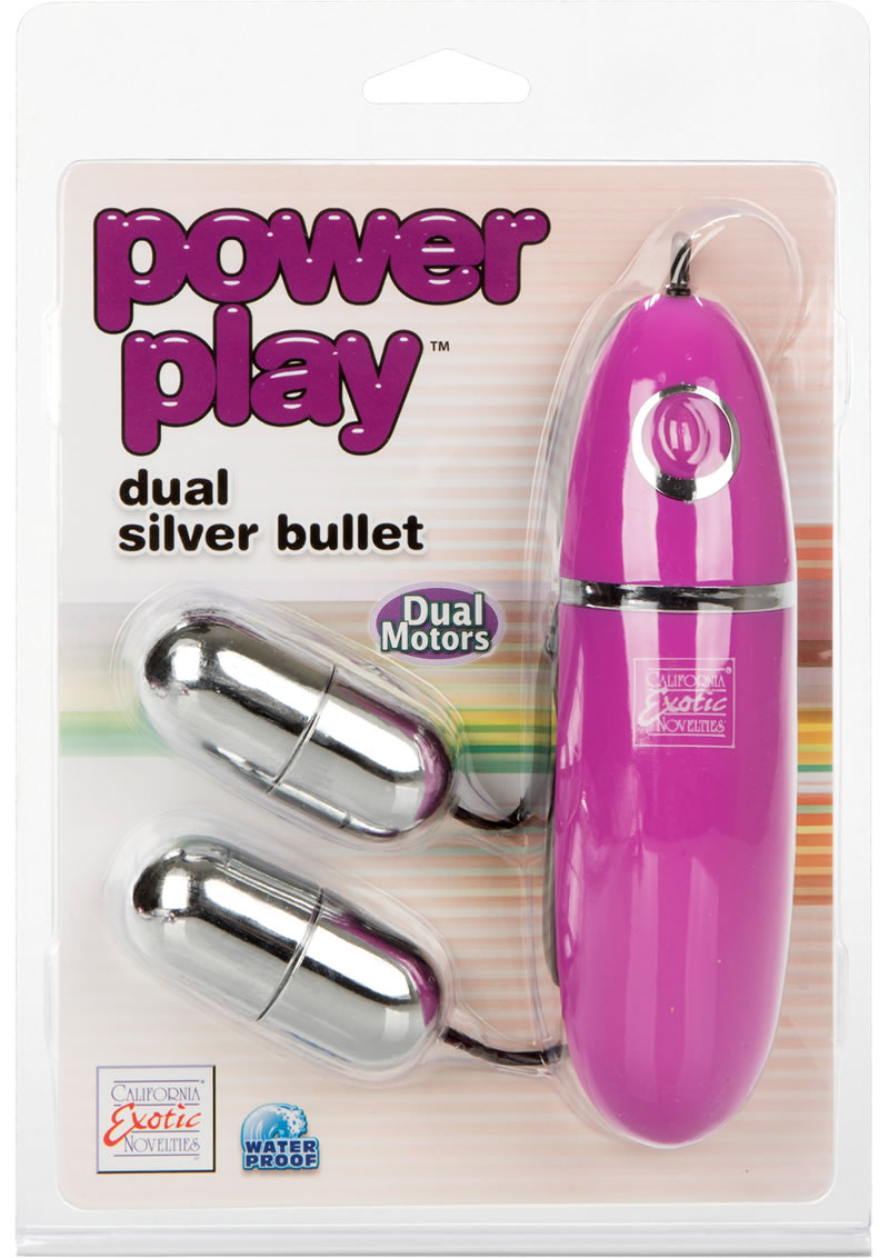 Power Play Dual Silver Bullets - Silver