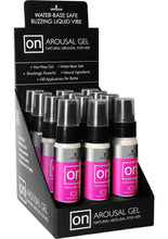 Load image into Gallery viewer, Sensuva On Arousal Gel Ice Water Base Buzzing and Cooling Female Gel 1oz (12 Per Display)