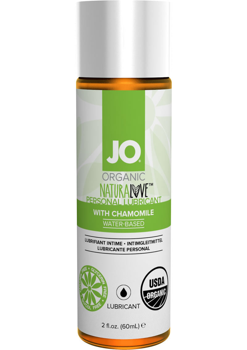 JO Naturalove USDA Organic Waterbased Lubricant With Chamomile 2oz