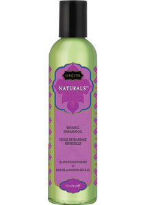 Kama Sutra Naturals Massage Oil Island Passion Berry 8oz