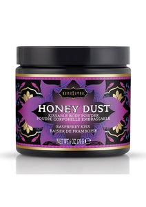 Kama Sutra Honey Dust Raspberry Kiss 6oz