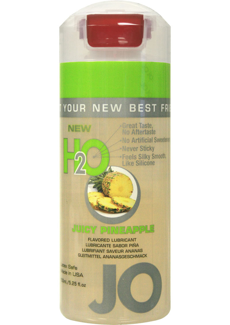 JO H2O Water Based Flavored Lubricant Juicy Pineapple 4oz