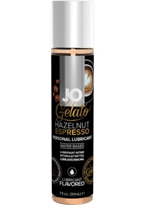 JO Gelato Water Based Flavored Lubricant Hazelnut Espresso 1oz