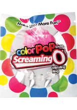 Load image into Gallery viewer, Color Pop Quickie Screaming O Vibrating Ring Silicone Cockring Pink