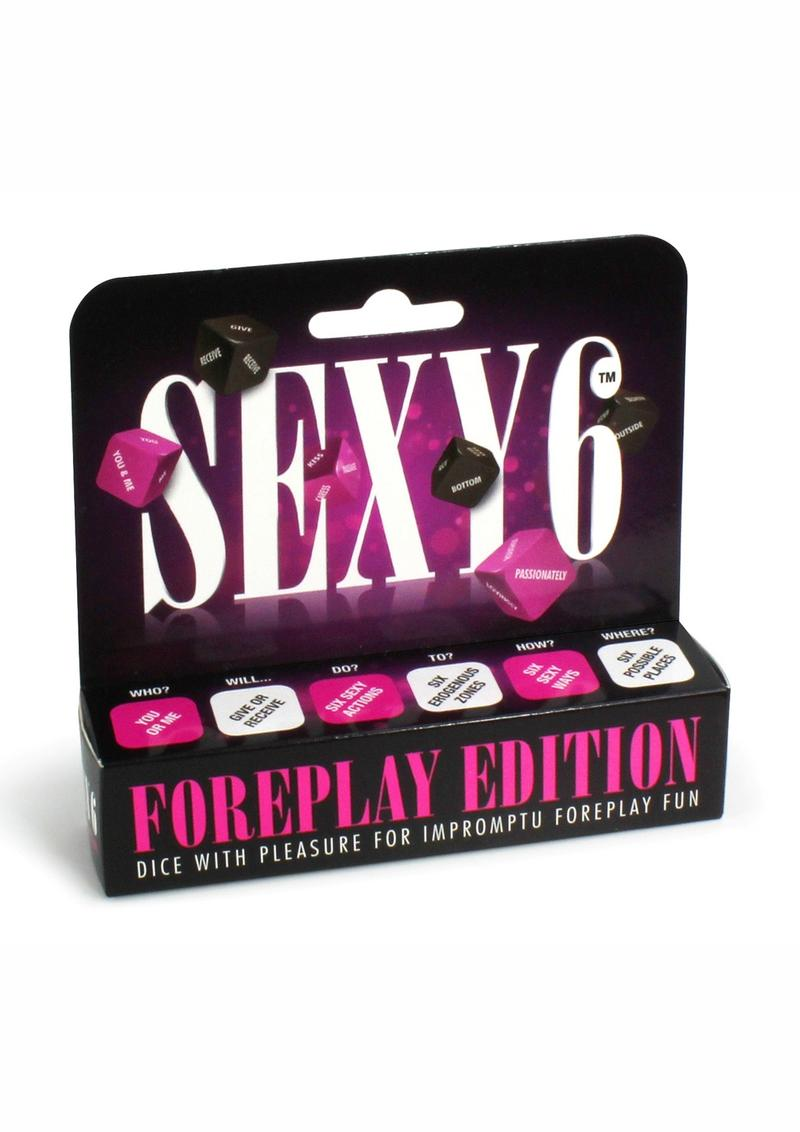 Sexy 6 Foreplay Edition Dice Game