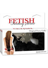 Load image into Gallery viewer, Fetish Fantasy Series Furry Cuffs Black