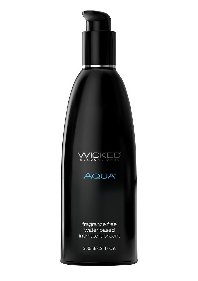 Wicked Aqua Water Based Lubricant Fragrance Free 8.5oz
