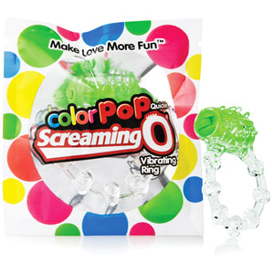 Screaming O Color Pop Quickie Green