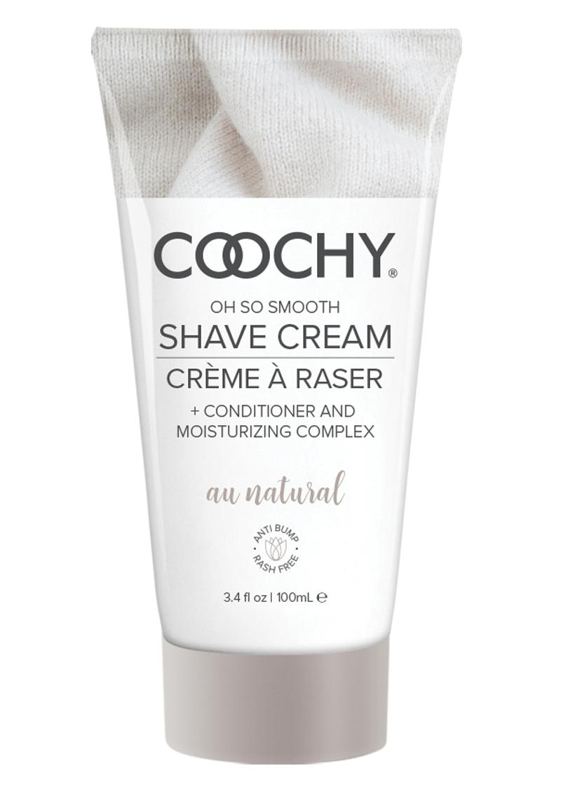 Coochy Shave Cream Au Natural 3.4oz