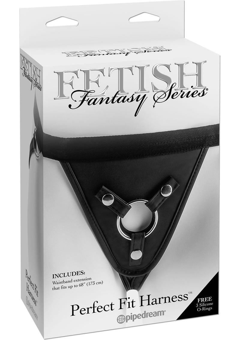 Fetish Fantasy Series Perfect Fit Adjustable Harness - Black