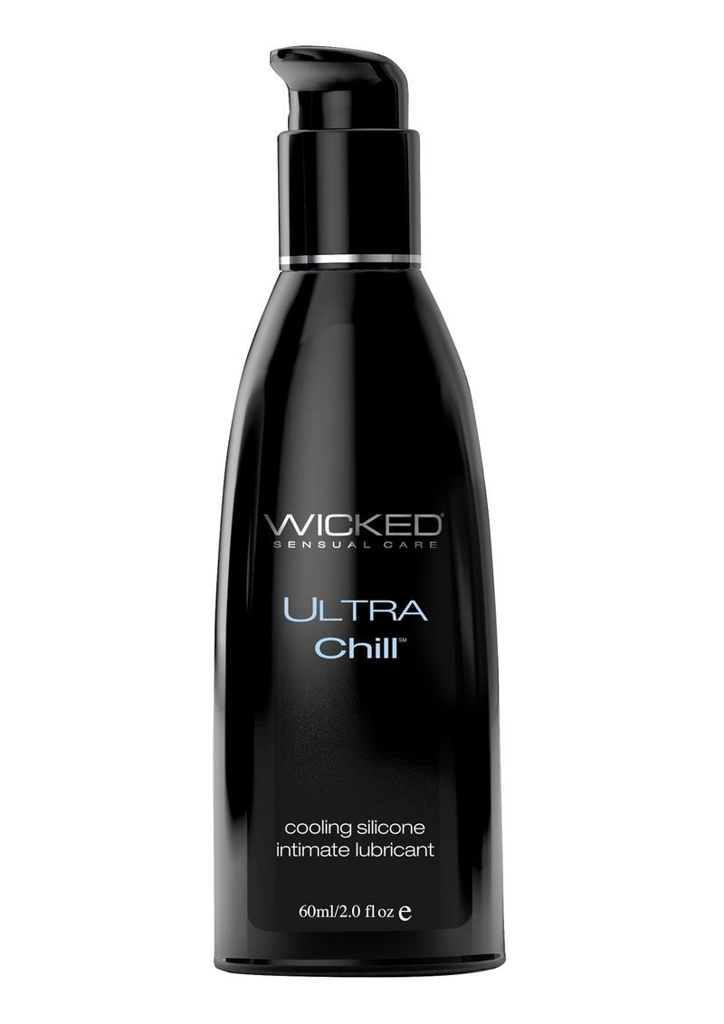Wicked Ultra Chill Silicone Cooling Lubricant 2oz