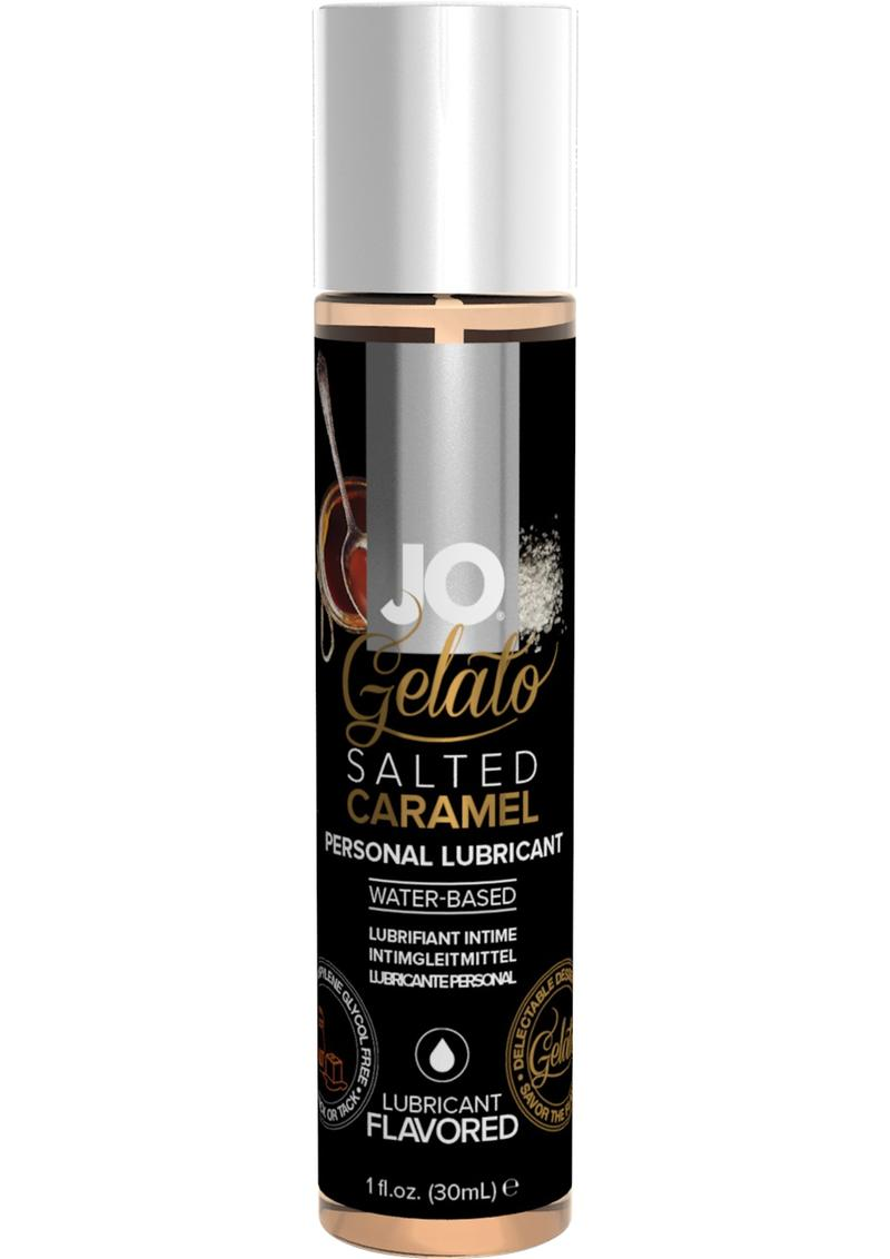 JO Gelato Water Based Flavored Lubricant Salted Caramel 1oz