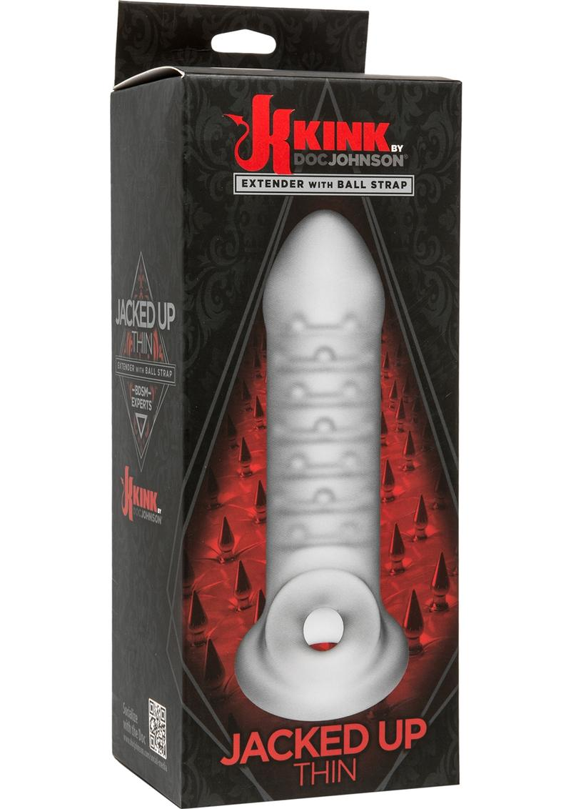 Kink Jacked UP Thin Extender with Ball Strap - Frost