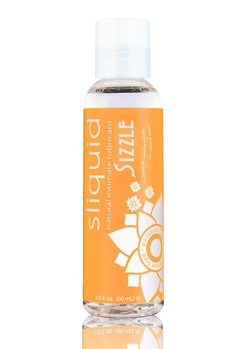 Sliquid Natural Sizzle Stimulating Lubricant 2oz