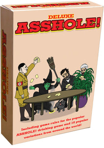 Deluxe Asshole! Drinking Card Game