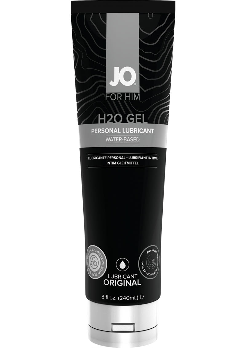 JO H2O Water Based Gel Lubricant 8oz