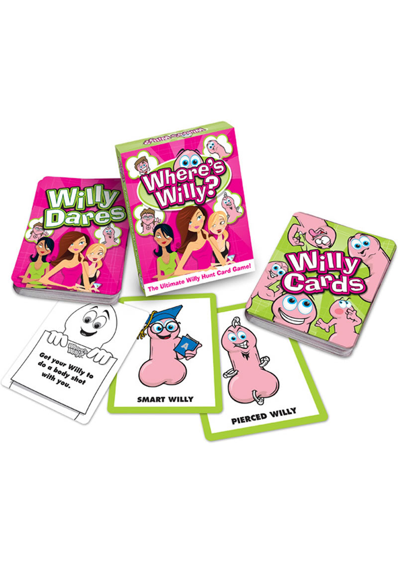 Wheres Willy Card Game