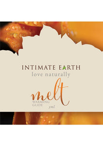 Intimate Earth Melt Warming Glide Lubricant Cinnamomum Zeylanicum Bark 3ml Foil