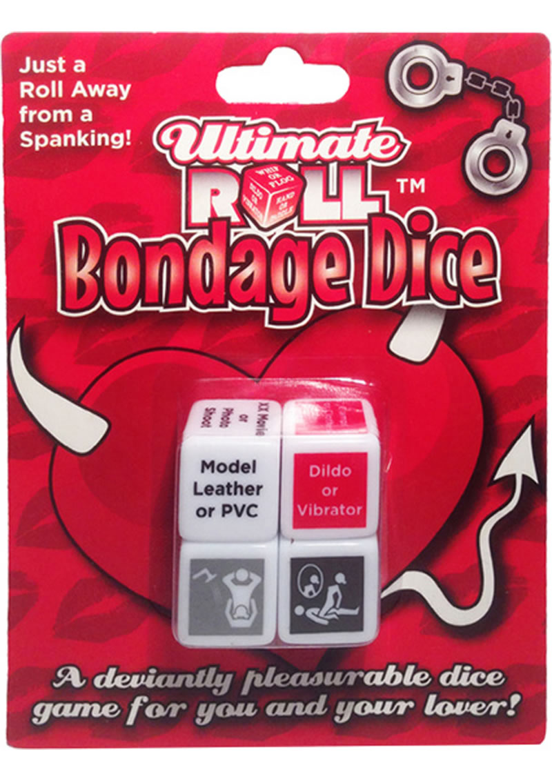 Ultimate Roll Bondage Dice Game For Couples