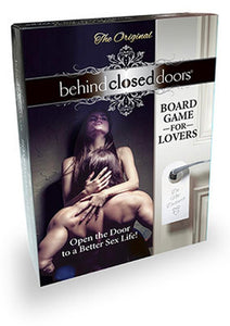 Behind Closed Doors A Board Game For Lovers
