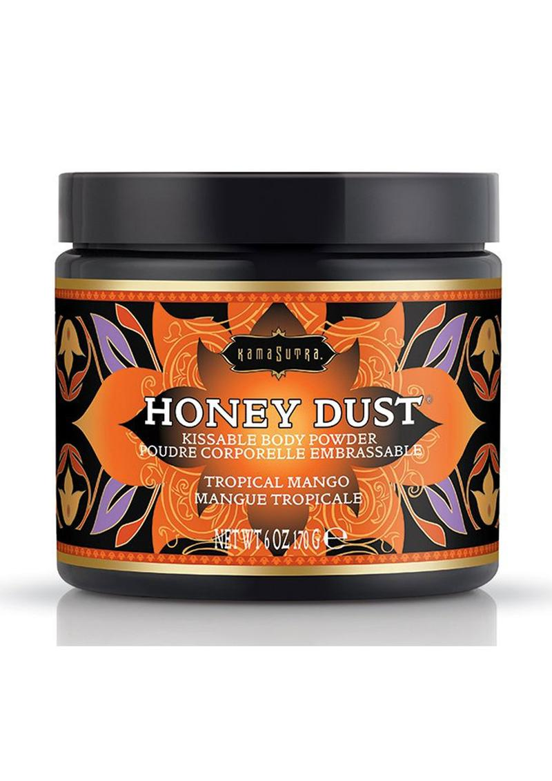 Kama Sutra Honey Dust Tropical Mango 6oz