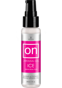 Sensuva On Arousal Gel Ice Water Base Buzzing and Cooling Female Gel 1oz
