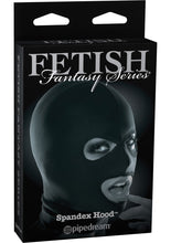 Load image into Gallery viewer, Fetish Fantasy Series Limited Edition Spandex Hood Black
