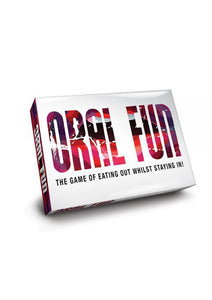 Oral Fun - The Game of Eating Out Whilst Staying In! Board Game
