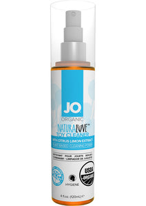 JO Naturalove USDA Organic Toy Cleaner With Citrus Lemon Extract 4oz