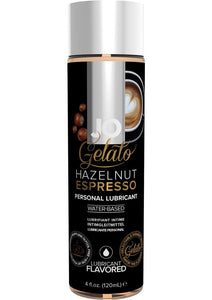 JO Gelato Water Based Flavored Lubricant Hazelnut Espresso 4oz