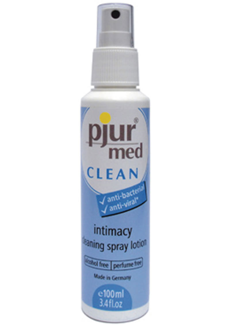 Pjur Med Toy Cleaning Spray Lotion 3.4oz