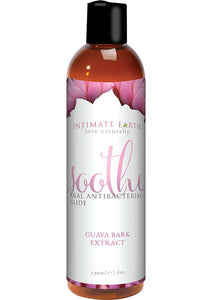 Intimate Earth Soothe ntibacterial Anal Glide Lubricant Guava Bark Extract 8oz