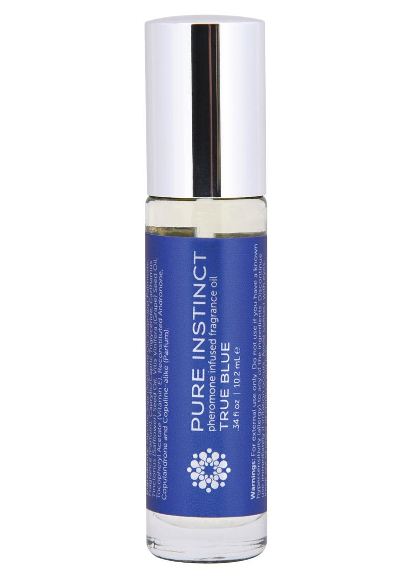 Pure Instinct Pheromone Fragrance Oil True Blue Roll On .35oz