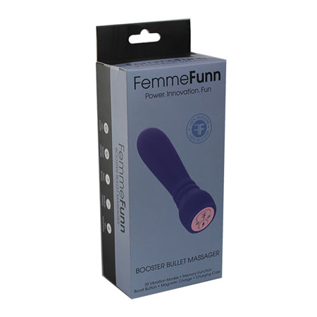 FemmeFunn Booster Bullet Silicone 20 Function Purple