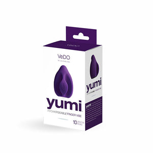 VeDO Yumi Rechargeable Finger Vibe - Deep Purple