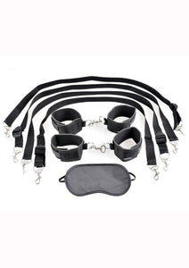 Fetish Fantasy Series Cuff and Tether Set - Black
