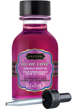 Load image into Gallery viewer, Kama Sutra Oil Of Love Raspberry Kiss .75oz