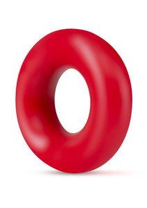 Stay Hard Donut Cock Rings (2 Pack) - Red