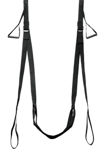 Frisky D` Luxe Entry Sex Sling - Black
