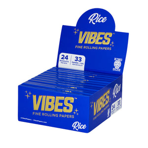 OZ PUFF Vibes™ Rice Papers - King Size + Tips