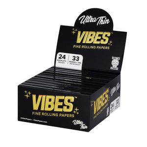 OZ PUFF Vibes™ Ultra Thin Papers - King Size + Tips