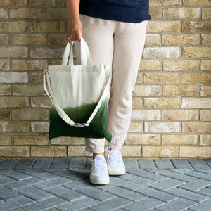 Ombre Tote in Green