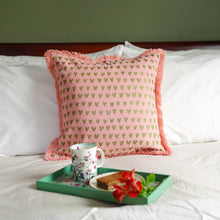 Load image into Gallery viewer, Mirage Heart Cushion Cover