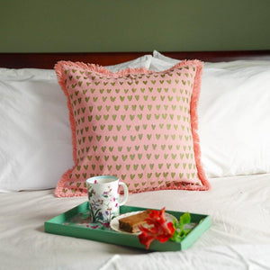 Mirage Heart Cushion Cover