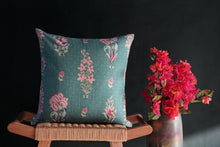 Load image into Gallery viewer, Les Indes Gulshan Cushion Cover - Tikauo