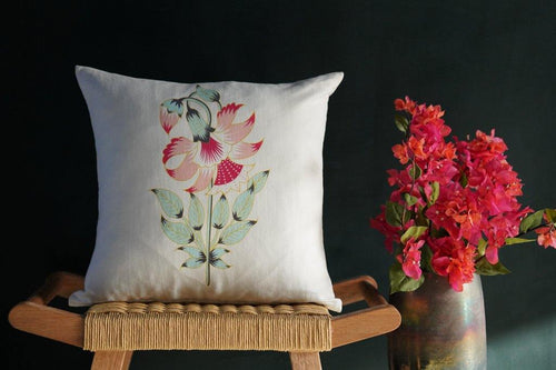 Les Indes Ketki Cushion Cover - Tikauo